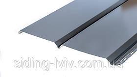 Металевий сайдинг для підшивки даху мат Німеччина AcelorMittal
