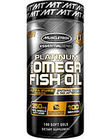Рыбий жир MuscleTech Platinum Omega Fish Oil 100 caps.