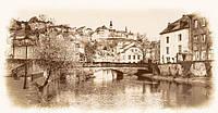 Фотообои Город на реке