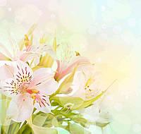 Фотообои Розовые дикие орхидеи