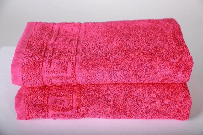 ТМ TAG Полотенце махровое 50 х 90  Raspberry