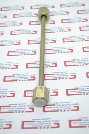 Паливна трубка. 300 мм. гайки: М 14-14 мм. Паливна трубка высоого тиску, фото 2