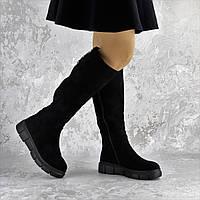 Ботфорты женские черные Krissy 2315 (36 размер), фото 1