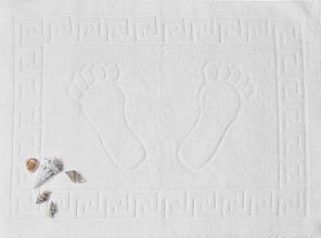 ТМ TAG Полотенце махровое для ног  50 х 70  белое Турция