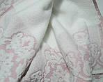 ТМ TAG Полотенце жаккард 70 х 140 Узор розовое, фото 2