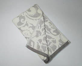 ТМ TAG Рушник махровий Nanette сіре