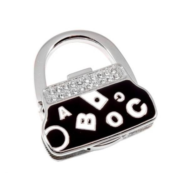 Сумкодержатель сумочка черная буквы
