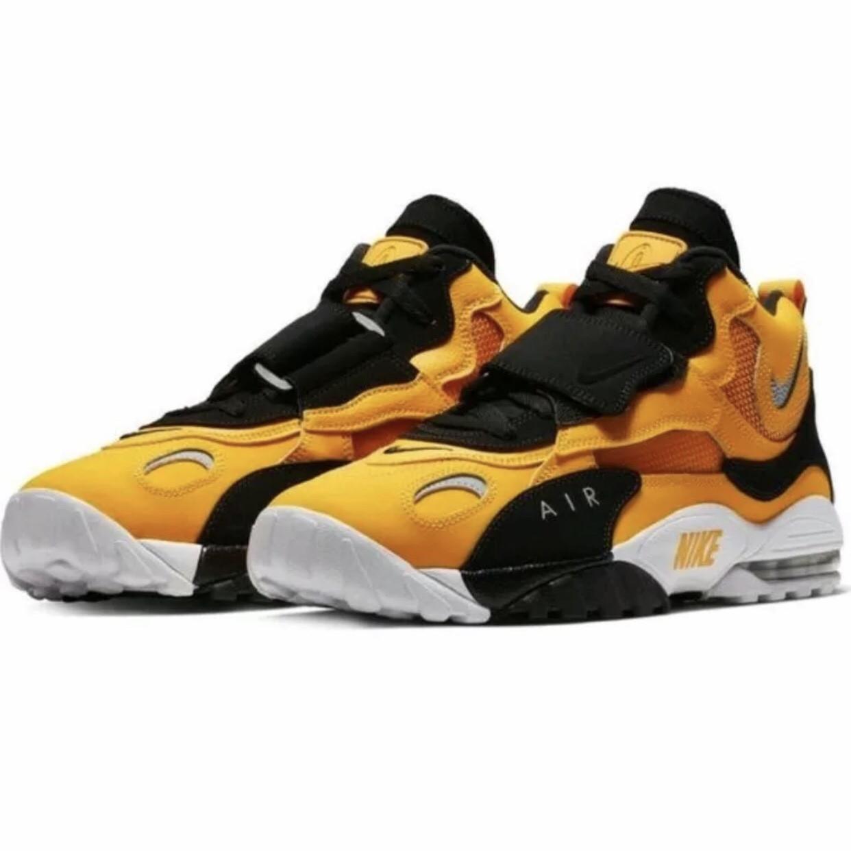 Чоловічі високі кросівки в стилі Air Max Speed Turf Yellow White