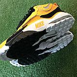 Чоловічі високі кросівки в стилі Air Max Speed Turf Yellow White, фото 4