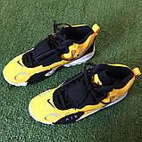 Чоловічі високі кросівки в стилі Air Max Speed Turf Yellow White, фото 5