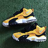 Чоловічі високі кросівки в стилі Air Max Speed Turf Yellow White, фото 3