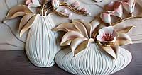 Фотообои Красивые горшки с цветами