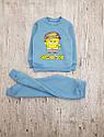Детский теплый костюм Губка Боб для мальчика на рост 86-128 см, фото 2