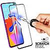 Защитное стекло на смартфон Xiaomi Redmi K30 (и для версии 5G) ЧЕРНЫЙ ободок вокруг SKU0001059
