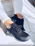 Черные легкие кроссовки 40 размер