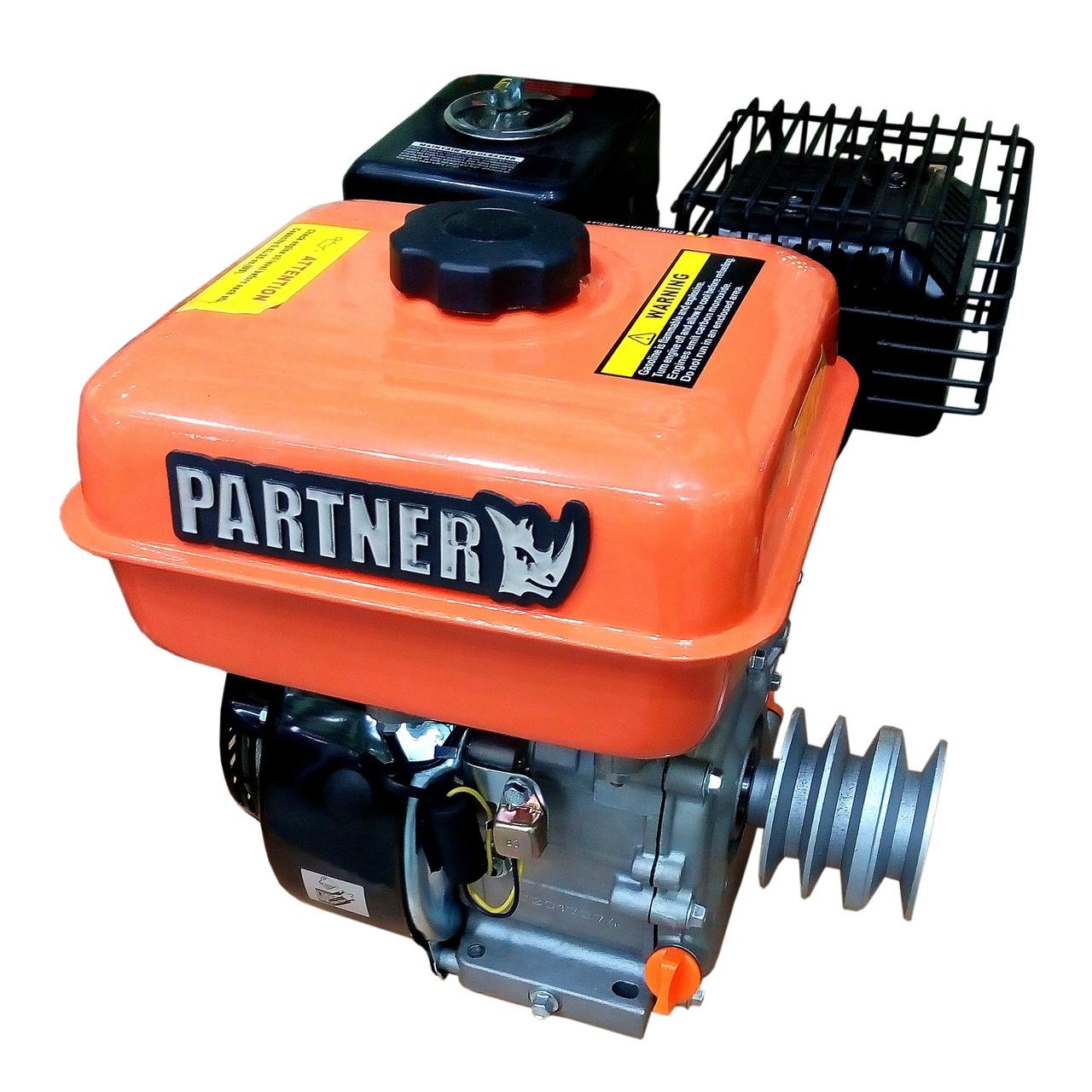 Двигатель бензиновый Partner 170F 7,0 л.с., вал 19 мм со шкивом