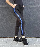 Спортивные штанишки с синим лампасом ZH-403-4