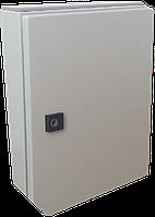 Щит металлический  навесной монтажный IP54 ящик распределительный с монтажной панелью 300x400x150