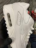 Кроссовки Nike Air Max 90 Full White, кроссовки найк аир макс 90, кросівки Nike Air Max 90, найк аір макс 90, фото 3