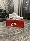 Кроссовки Nike Air Max 90 Full White, кроссовки найк аир макс 90, кросівки Nike Air Max 90, найк аір макс 90, фото 7