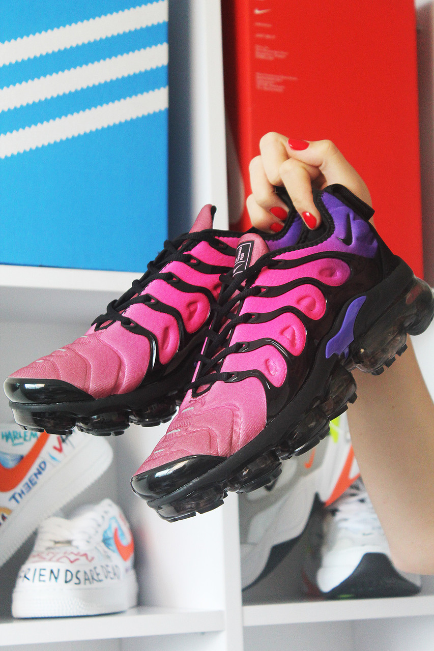 Мужские кроссовки Nike Air VaporMax TN Pink Violet, мужские кроссовки найк аир вапормакс тн
