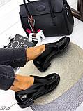 Жіночі демісезонні черевики - лофери Лоро, натуральна шкіра і замш, фото 8
