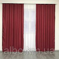 Штори проти світла в спальню зал дитячу, штори з льону на вікна в спальню кабінет хол кухню, штори від сонця для дитячої кімнати, фото 2