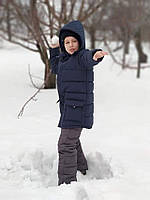 Куртка зимова для хлопчика синя