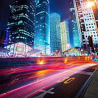 Фотообои Высотки ночного города