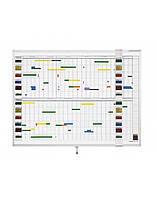 Планировщик годовой активности Magnetoplan Activity Planner 1200 x 900 мм