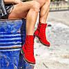 Високі жіночі демісезонні черевики на шнурівці 36-41 р, фото 5
