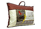 Подушка с совами и наполнителем искусственный лебяжий пух 50х70 см, фото 2
