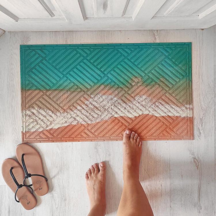 Дверний килимок Океан