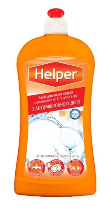 Антимикробное средство для мытья посуды Helper Ромашка 500мл