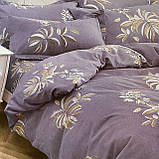 Двуспальный комплект постельного белья | Постельное белье Фланель ( Байка), фото 2