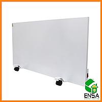 Панельный обогреватель ENSA P750, конвектор электрический бытовой 1000х500х15 мм, панель инфракрасная 750 Вт
