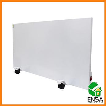 Панельный обогреватель ENSA P750,конвектор электрический бытовой 1000х500х15мм, панель инфракрасная 750 Вт