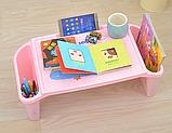 Стол детский органайзер пластиковый универсальный, фото 8