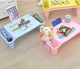 Стол детский органайзер пластиковый универсальный, фото 6