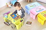 Стол детский органайзер пластиковый универсальный, фото 7