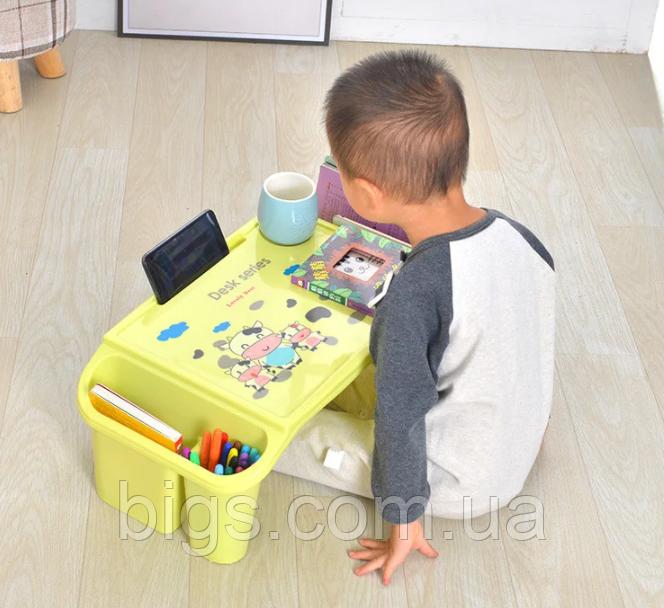 Стол детский органайзер пластиковый универсальный