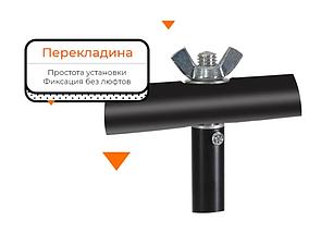 Стійка Т подібний тримач для фото фону Stand 68×70 см кріплення прищіпками, фото 2