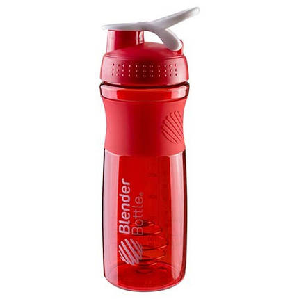 Шейкер спортивный красный BlenderBottle 760мл, фото 2