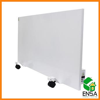 Панельный обогреватель ENSA P750Е с программатором,конвектор электрический бытовой 1000х500х15мм, 750Вт