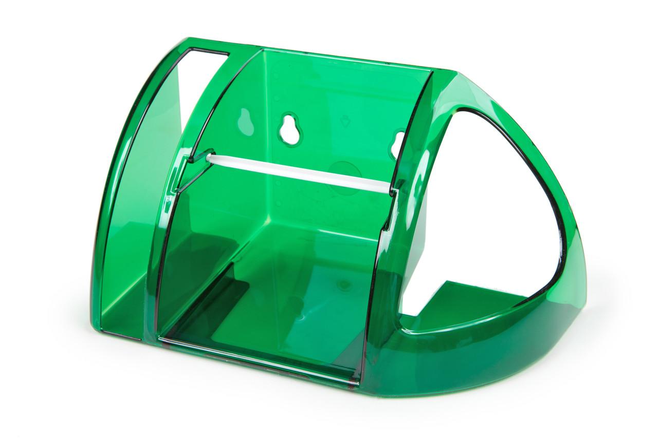 Полка для туалета Berossi зеленая полупрозрачная