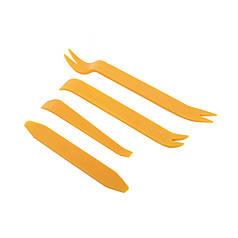 Набор инструментов съемников Lesko 01G Orange для снятия обшивки салона автомобиля