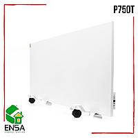 Панельный обогреватель ENSA P750Т с терморегулятором, конвектор электрический бытовой 1000х500х15 мм, 750Вт