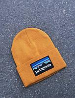 Шапка в стиле Patagonia логотип нашивка, фото 1