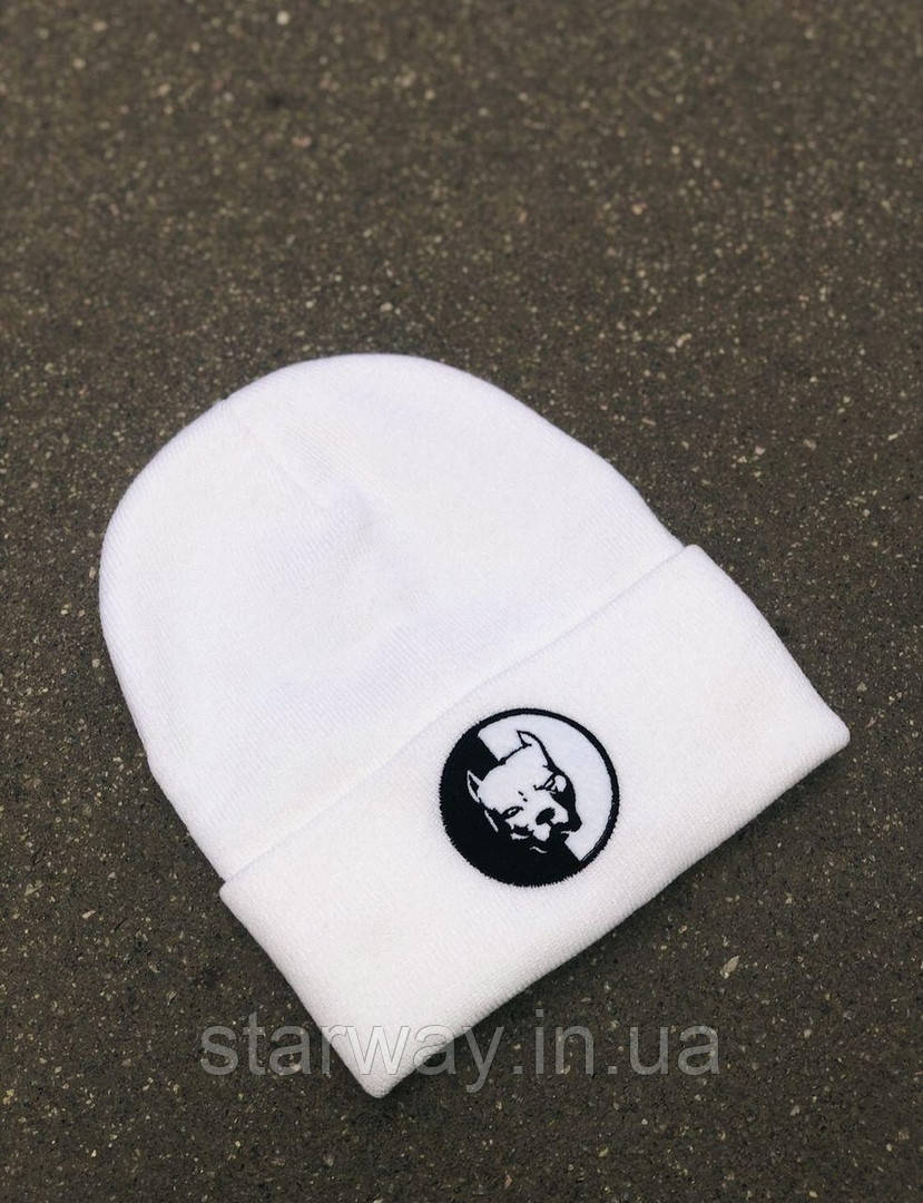 Стильна шапка PitBull логотип вишивка