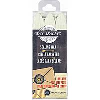 Набір восків - Manuscript Sealing Gun Wax Sticks - Pearl - 3 шт.